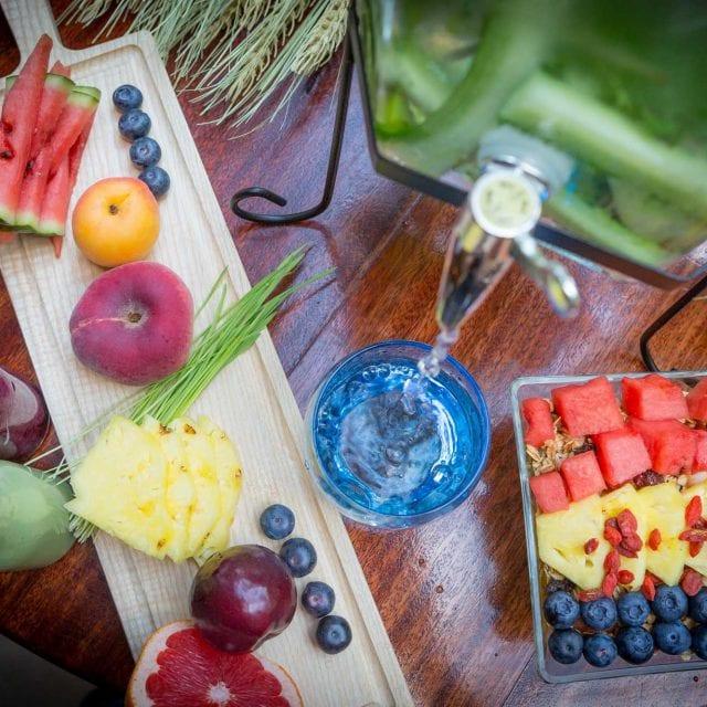 Clayton Hotel Vitality Breakfast fresh fruits