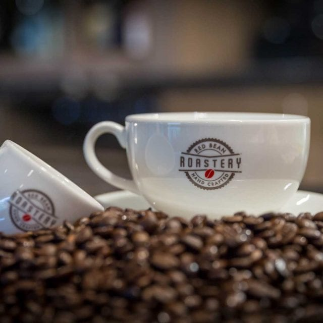 Red Bean Roastery coffee at Clayton Hotel City of London