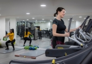 Gym at Clayton Hotel City of London