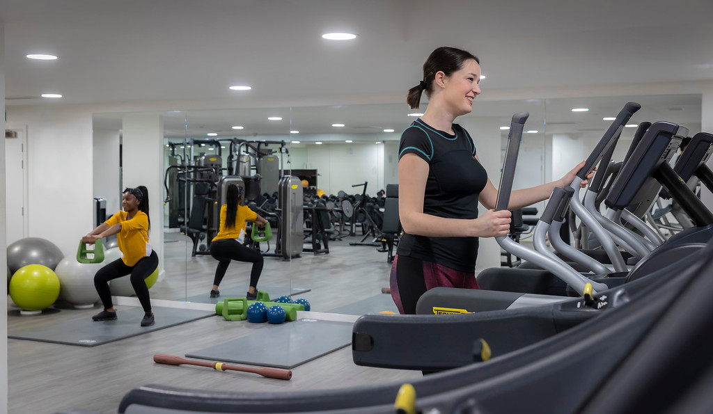 hotel with gym in city of london