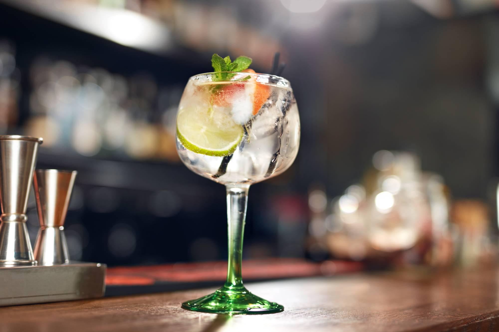 luscious gin and tonic