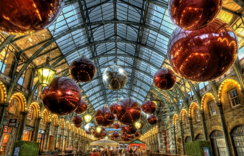 Covent Garden Christmas market